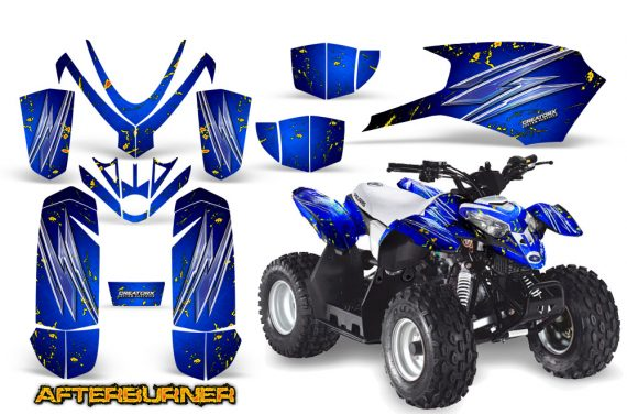 Polaris Outlaw Predator 50 Graphics Kit AfterBurner Blue 570x376 - Polaris Outlaw 50 Graphics