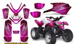 Polaris Outlaw Predator 50 Graphics Kit AfterBurner Pink 150x90 - Polaris Predator 50 Graphics