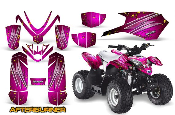 Polaris Outlaw Predator 50 Graphics Kit AfterBurner Pink 570x376 - Polaris Predator 50 Graphics