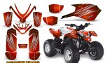 Polaris Outlaw Predator 50 Graphics Kit AfterBurner Red 150x90 - Polaris Predator 50 Graphics