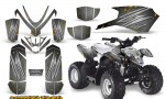Polaris Outlaw Predator 50 Graphics Kit AfterBurner Silver 150x90 - Polaris Predator 50 Graphics