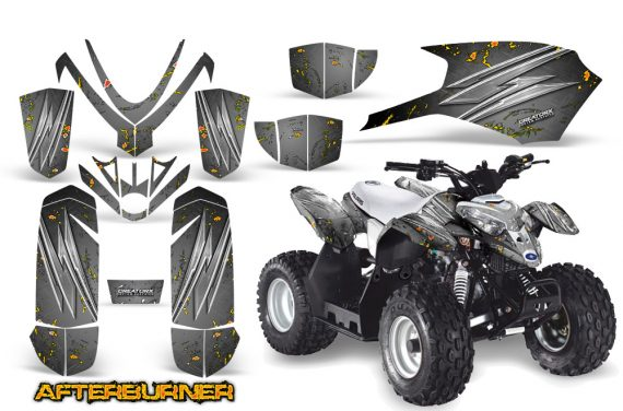 Polaris Outlaw Predator 50 Graphics Kit AfterBurner Silver 570x376 - Polaris Predator 50 Graphics