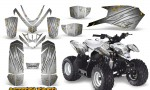 Polaris Outlaw Predator 50 Graphics Kit AfterBurner White 150x90 - Polaris Predator 50 Graphics