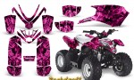 Polaris Outlaw Predator 50 Graphics Kit Backdraft Pink 150x90 - Polaris Predator 50 Graphics