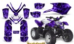 Polaris Outlaw Predator 50 Graphics Kit Backdraft Purple 150x90 - Polaris Predator 50 Graphics