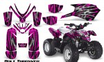Polaris Outlaw Predator 50 Graphics Kit Bolt Thrower Pink 150x90 - Polaris Predator 50 Graphics
