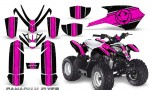 Polaris Outlaw Predator 50 Graphics Kit Canadian Flyer Pink Black 150x90 - Polaris Predator 50 Graphics