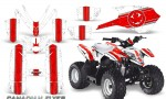 Polaris Outlaw Predator 50 Graphics Kit Canadian Flyer Red White 150x90 - Polaris Predator 50 Graphics