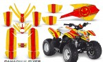 Polaris Outlaw Predator 50 Graphics Kit Canadian Flyer Red Yellow 150x90 - Polaris Predator 50 Graphics