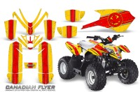 Polaris_Outlaw_Predator_50_Graphics_Kit_Canadian_Flyer_Red_Yellow