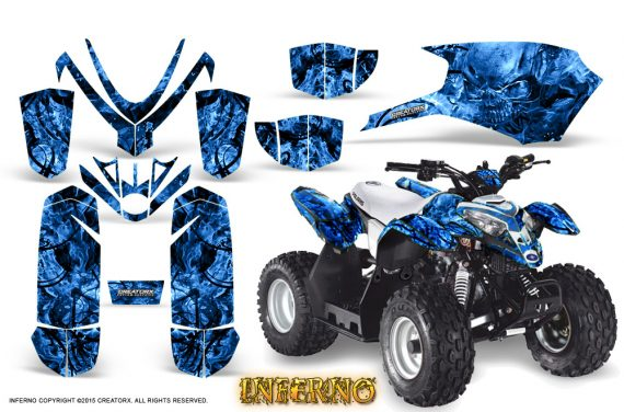 Polaris Outlaw Predator 50 Graphics Kit Inferno Blue 1 570x376 - Polaris Outlaw 50 Graphics