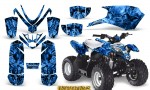 Polaris Outlaw Predator 50 Graphics Kit Inferno Blue 150x90 - Polaris Predator 50 Graphics