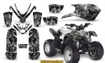 Polaris Outlaw Predator 50 Graphics Kit Inferno Silver 150x90 - Polaris Predator 50 Graphics