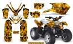 Polaris Outlaw Predator 50 Graphics Kit Inferno Yellow 150x90 - Polaris Predator 50 Graphics