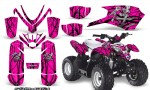 Polaris Outlaw Predator 50 Graphics Kit Samurai Black Pink 150x90 - Polaris Predator 50 Graphics