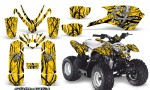 Polaris Outlaw Predator 50 Graphics Kit Samurai Black Yellow 150x90 - Polaris Predator 50 Graphics