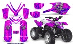 Polaris Outlaw Predator 50 Graphics Kit Samurai Blue Pink 150x90 - Polaris Predator 50 Graphics
