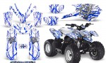 Polaris Outlaw Predator 50 Graphics Kit Samurai Blue White 150x90 - Polaris Predator 50 Graphics
