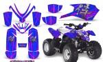 Polaris Outlaw Predator 50 Graphics Kit Samurai Pink Blue 150x90 - Polaris Predator 50 Graphics