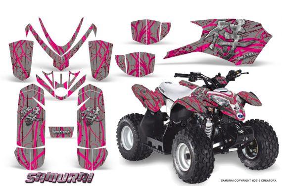 Polaris_Outlaw_Predator_50_Graphics_Kit_Samurai_Pink_Silver