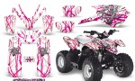 Polaris Outlaw Predator 50 Graphics Kit Samurai Pink White 150x90 - Polaris Predator 50 Graphics