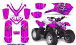 Polaris Outlaw Predator 50 Graphics Kit Samurai Purple Pink 150x90 - Polaris Predator 50 Graphics