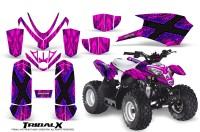 Polaris_Outlaw_Predator_50_Graphics_Kit_TribalX_Blue_Pink