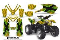Polaris_Outlaw_Predator_50_Graphics_Kit_TribalX_Green_Yellow