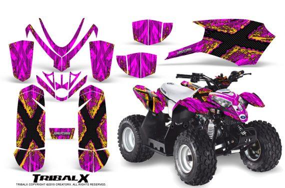 Polaris_Outlaw_Predator_50_Graphics_Kit_TribalX_Yellow_Pink