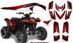 Polaris Phoenix Graphics Kit RacerX Black Red 150x90 - Polaris Phoenix 200 Graphics