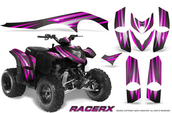Polaris Phoenix Graphics Kit RacerX Pink Black 570x376 - Polaris Phoenix 200 Graphics