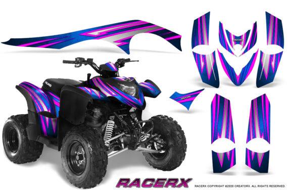 Polaris Phoenix Graphics Kit RacerX Pink Blue 570x376 - Polaris Phoenix 200 Graphics