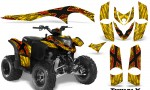Polaris Phoenix Graphics Kit TribalX Red Yellow 150x90 - Polaris Phoenix 200 Graphics