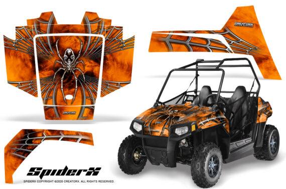Polaris RZR170 CREATORX Graphics Kit SpiderX Orange 570x376 - Polaris Youth RZR 170 Graphics