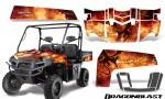 Polaris Ranger XP 2010 2014 Graphics Kit Dragonblast 150x90 - Polaris Ranger XP 500 800 900D 4x4 EFI 2010-2014 Graphics