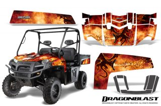 Polaris Ranger XP 2010 2014 Graphics Kit Dragonblast 320x211 - Polaris Ranger XP 500 800 900D 4x4 EFI 2010-2014 Graphics