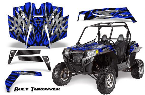 RZR 900 2011 CreatorX Graphics Kit Bolt Thrower Blue 570x376 - Polaris RZR 900 XP UTV 2011-2014 Graphics