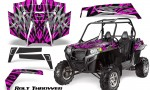 RZR 900 2011 CreatorX Graphics Kit Bolt Thrower Pink 150x90 - Polaris RZR 900 XP UTV 2011-2014 Graphics