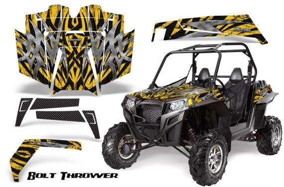 RZR 900 2011 CreatorX Graphics Kit Bolt Thrower Yellow 570x376 - Polaris RZR 900 XP UTV 2011-2014 Graphics