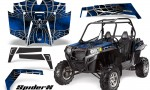 RZR 900 2011 CreatorX Graphics Kit SpiderX Blue 150x90 - Polaris RZR 900 XP UTV 2011-2014 Graphics