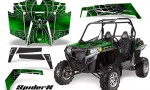 RZR 900 2011 CreatorX Graphics Kit SpiderX Green 150x90 - Polaris RZR 900 XP UTV 2011-2014 Graphics