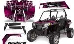 RZR 900 2011 CreatorX Graphics Kit SpiderX Pink 150x90 - Polaris RZR 900 XP UTV 2011-2014 Graphics