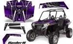 RZR 900 2011 CreatorX Graphics Kit SpiderX Purple 150x90 - Polaris RZR 900 XP UTV 2011-2014 Graphics