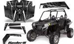 RZR 900 2011 CreatorX Graphics Kit SpiderX Silver 150x90 - Polaris RZR 900 XP UTV 2011-2014 Graphics