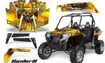 RZR 900 2011 CreatorX Graphics Kit SpiderX Yellow 150x90 - Polaris RZR 900 XP UTV 2011-2014 Graphics