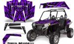 RZR 900 2011 CreatorX Graphics Kit Tribal Madness Purple 150x90 - Polaris RZR 900 XP UTV 2011-2014 Graphics