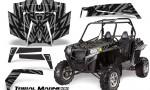 RZR 900 2011 CreatorX Graphics Kit Tribal Madness Silver 150x90 - Polaris RZR 900 XP UTV 2011-2014 Graphics