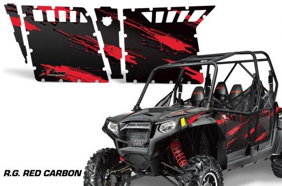 RZR 800 4 RG RED CARBON 2636 104182 1010 570x376 - Polaris RZR-S 800 4 Door Graphics