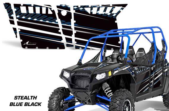 RZR 800 4 STEALTH BLUE BLACK 2636 104229 1010 570x376 - Polaris RZR-S 800 4 Door Graphics