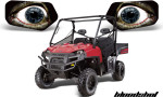 Ranger Eyes Headlight Graphics Bloodshot 150x90 - Polaris Ranger Head Light Eye Graphics for Ranger Models